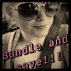 Bundle items and save more!!!